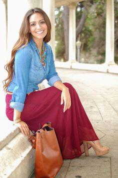 Ooh La La Marsala-10 Ways to Wear Pantone's Color of the Year