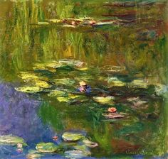 The Water-Lily Pond - Claude Monet - The Athenaeum