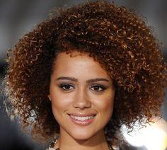 Nathalie Emmanuel's Natural Curls