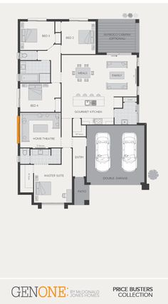 McDonald Jones Homes - Manhattan Collection - Floorplan #Floorplans #luxuryhome