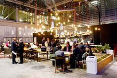 Ericcson:  Jack Morton Worldwide's bilevel booth for Ericsson at Mobile World Congress 2013 also included an on-site coffee shop with...