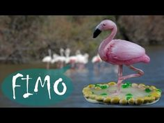 Flamingo ~ ABC ~ Polymerclay / Fimo / Tutorial