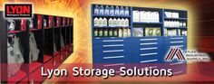 Lyon Storage Solutions for space saving solutions for any workshop or storage space.