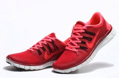 Buy Nike Free Run 5.0 Red Pink with Free Delievery | ShoeHouze