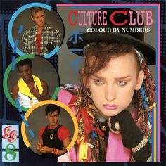 Culture Club - Colour By Numbers on Numbered Limited Edition Colored 180g Import LP August 15 2016