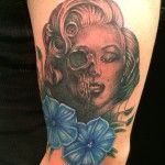 Merlin portrait done Oksana Weber at Body and soul tattoo