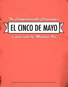 This 31-page, Spanish-language lesson plan bundle is designed for Spanish 1 students and beyond to learn about the history and traditions of Cinco de Mayo in Mexico and the US. There are enough activities for 3-4 class days. The bundle includes:-Pre-reading discussion questions -A Level 1 reading in Spanish about the history of Cinco de Mayo-A Level 2+ reading in Spanish about the history of Cinco de Mayo-Comprehension questions for each reading-Two video viewing activity descriptions with…