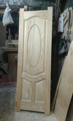Wood Entry Doors, Wood Exterior Door, Wooden Front Door Design, Modern Wooden Doors, Door Design Interior, Decoration, Isco, Wooden Ladders, Carpentry