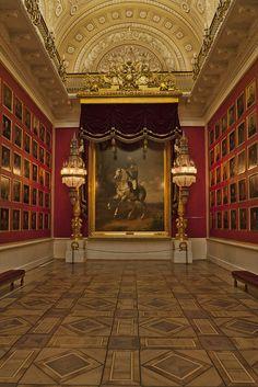 Hermitage Museum, Saint Petersburg - Peter the Great Photo in background.