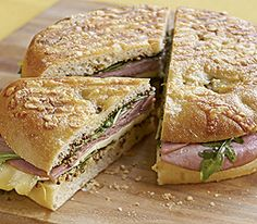 Ham and Brie Panini :: Recipes :: MyPanera - although i'd definitely use the plain focaccia, not the asiago one. Why steal the thunder from the deliciousness of the brie by having it compete with cheese-flavored bread?