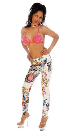 Sexy, Skin-tight Leggings, Peace #thesexiestlingerie, #leggings, #tightpants