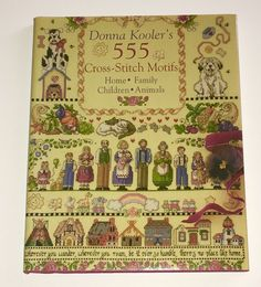 Donna Kooler's 555 Cross Stirch Motifs HCDJ   eBay