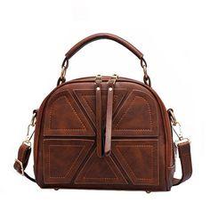 Sold-Out-Famous-Vintage Retro Double Zipper Handbags Shoulder Bags  Messenger  Bags for Women 20479440483e9