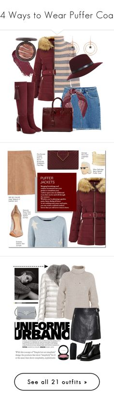 """""""14 Ways to Wear Puffer Coats"""" by polyvore-editorial ❤ liked on Polyvore featuring puffercoats, 81 Hours, H&M, Miss Selfridge, Latelita, Chan Luu, Aquatalia by Marvin K., Yves Saint Laurent, See by Chloé and 360 Sweater"""
