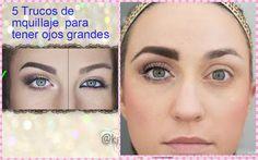 5 trucos de maquillaje para tener ojos grandes ~ Manoslindas.com