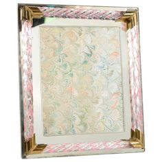Vintage Murano Glass Picture Frame
