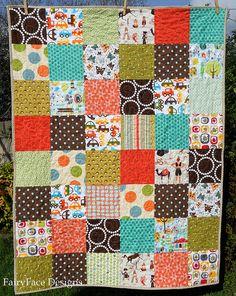 Autumn Baby quilt front