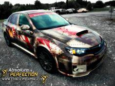 Zombie Escape Vehicle #CarWrap #VehicleWrap