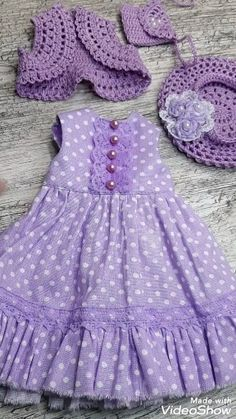 Doll clothes Doll clothes Outfit Paola Reina clothes for dolls<br> Sewing Doll Clothes, American Doll Clothes, Baby Doll Clothes, Crochet Doll Clothes, Sewing Dolls, Barbie Clothes, Girls Dresses Sewing, Doll Dresses, Ag Dolls