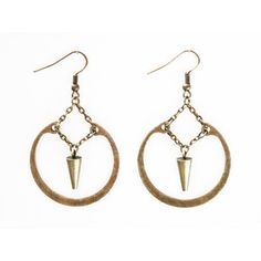 Crow Jane Jewelry: Suspended Ring Earrings, now featured on Fab.