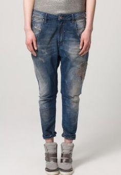Diesel - FAYZA - Boyfriend jeans - Blauw