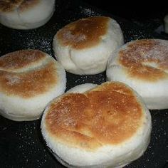English muffins (focaccine all'inglese) @ allrecipes.it
