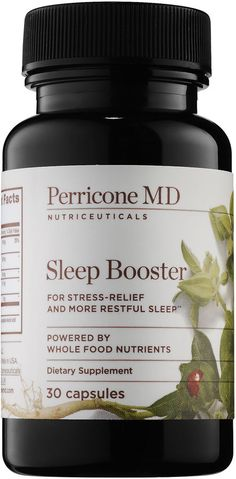 Shop Perricone MD's Sleep Booster at Sephora. It's formulated to help the body fall into a healthy sleep cycle. Insomnia Causes, Insomnia Remedies, Arthritis Remedies, Normal Sleep Cycle, Banana Cinnamon Tea, Foods High In Magnesium, Natural Sleeping Pills, Natural Sleep Remedies, Diet
