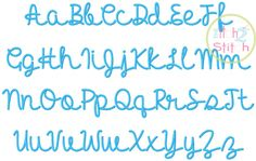 """I2S Hello Heartache Embroidery Font in sizes: 0.75"""", 1.25"""", 1.75"""", & 2.25"""" http://www.theitch2stitch.com/How-to-Use-the-BX-format-with-Embrilliance_b_6.html"""