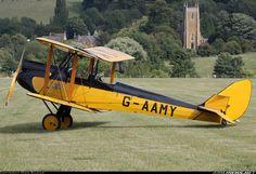 De Havilland (Moth Aircraft) DH-60GM Gipsy Moth ... harriet flew a Gypsy Moth