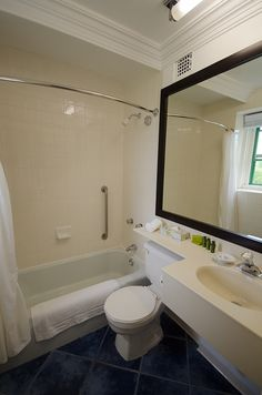 Digby Pines Main Lodge Bathrooms Lodge Bathroom, Spa Offers, Romantic Destinations, Luxury Accommodation, Nova Scotia, Resort Spa, Corner Bathtub, Bathrooms, Golf