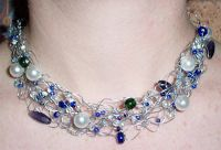 Wire Crochet Necklace Instructions | ... jewelry. Check out these crochet wire jewelry making instructions and