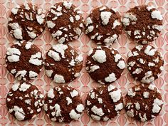 Chocolate Crinkle Cookies recipe from Food Network Kitchen via Food Network