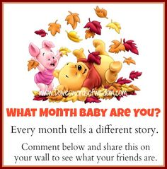 What Month Baby are you? JULY BABY...