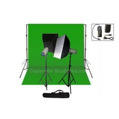 Our Photography light kits can enhance your photos by manipulating the amount and direction of light in them.