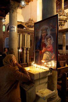 Egypt - Scenes of a Coptic Church in Cairo