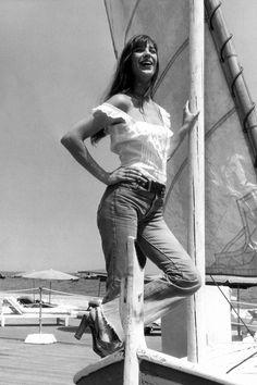 Jane Birkin, 1973.