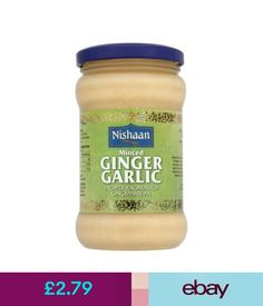 Spices & Seasonings Nishaan Minced Ginger Garlic (283G) #ebay #Home & Garden