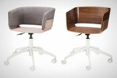 20 Delightful Desk Chairs via Brit + Co.