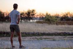 Men's Moisture Wick Running Shorts