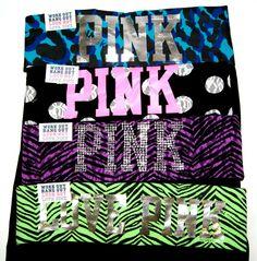 PINK Yoga Pants <3 Comfortable and cute!