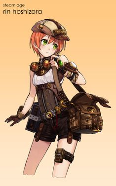 157 Best Anime Steampunk Images In 2019 Anime Art Anime Guys