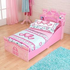 KidKraft Girl's Princess Castle Toddler Bed KidKraft https://www.amazon.com/dp/B00JB0XQ1A/ref=cm_sw_r_pi_dp_x_CgJTxbTWR85Q1