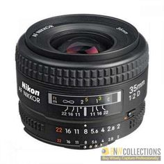 Buy Nikon AF 35mm f/2D wide angle lens At Rs.30,800 Features :- versatile wide-angle lens, Fast f/2 maximum aperture Cash on Delivery Hassle FREE To Returns Contact # (+92) 03-111-111-269 (BnW) #BnWCollections #Nikon #wide #angle #camera #lens