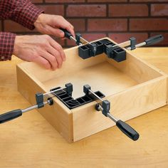 Clamp-It® Assembly Square Deluxe Kit - Rockler Woodworking Tools Essential Woodworking Tools, Rockler Woodworking, Woodworking Books, Learn Woodworking, Popular Woodworking, Woodworking Videos, Woodworking Furniture, Woodworking Projects, Wood Projects