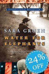 4.5/5  Water for Elephants: A Novel  by Sara Gruen