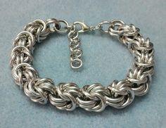Rosetta Chain Maille Bracelet - sold via ebay.com