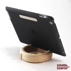 Woody Dock Lake de pino. Para iPad y otros tablets