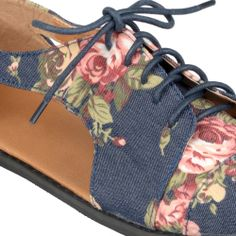 ab10f02e80b86 Journee Collection Women s Cut-out Lace-up Oxfords - Denim 9