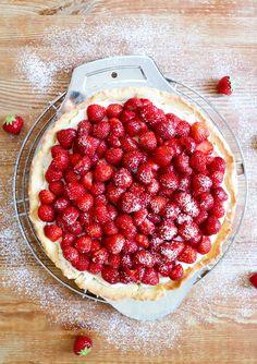 Raspberry, Strawberry, Cake Recipes, Dishes, Fruit, Food, Pie, Cake Cookies, Bakken