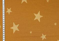 STRICKJERSEY YAREN Sterne auf Senf